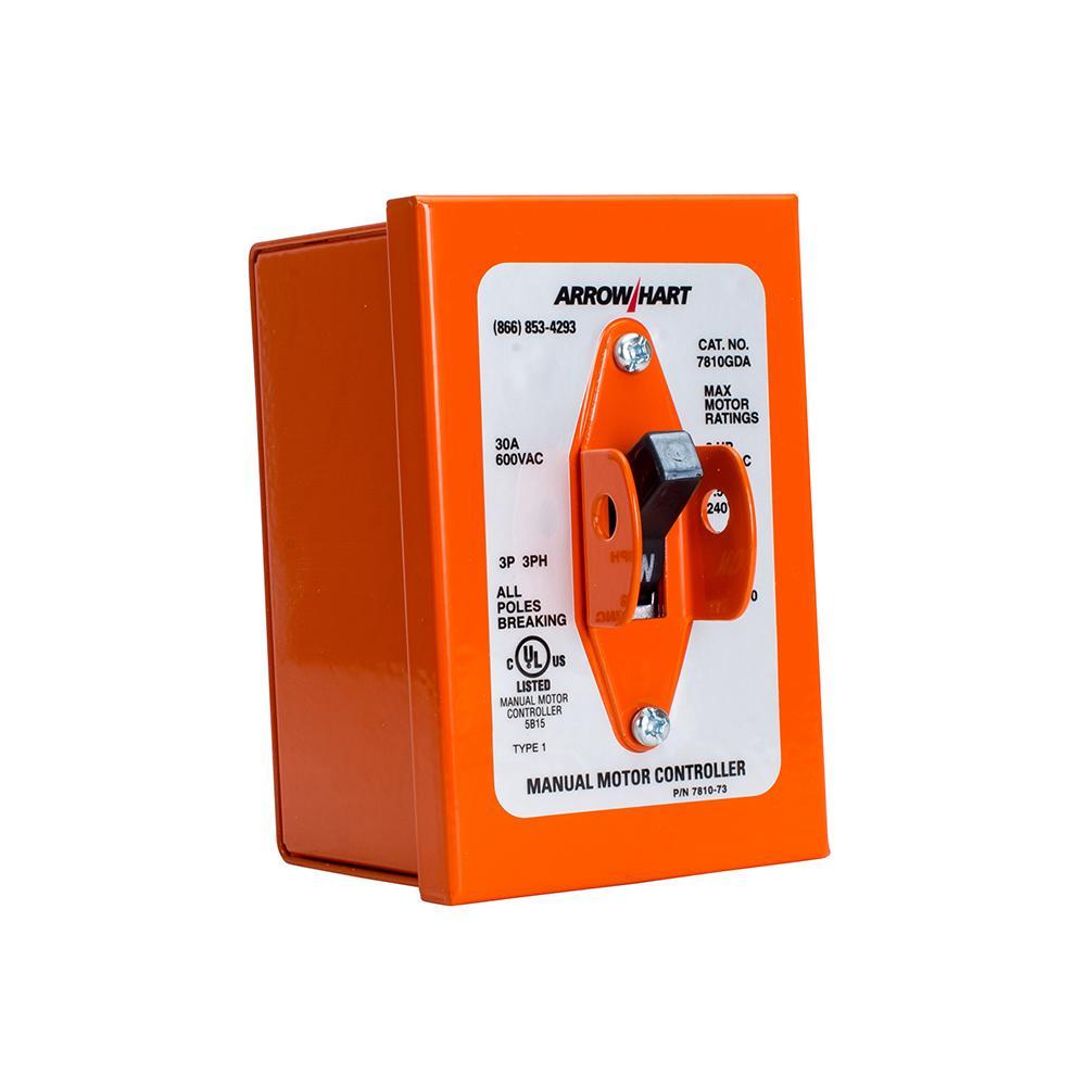 Ah7810ud W Type 1 Orange Enclosure 7810gda Bayside Electric Supply Arrow Hart Wiring Devices
