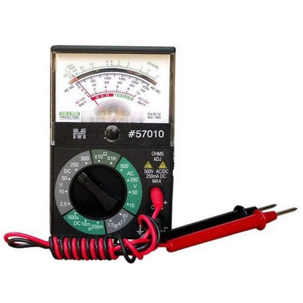 Electrician Testing Doorbell Transformer With Multimeter