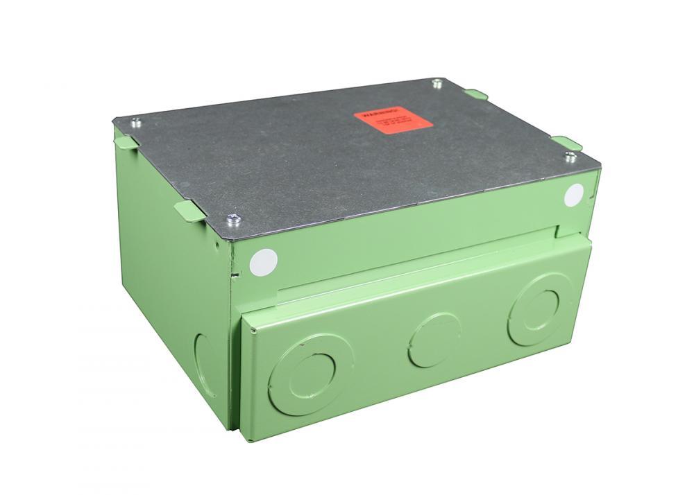 EVO 4-GANG ON-GRADE FLOOR BOX : EFB45S-OG | Bayside Electric Supply