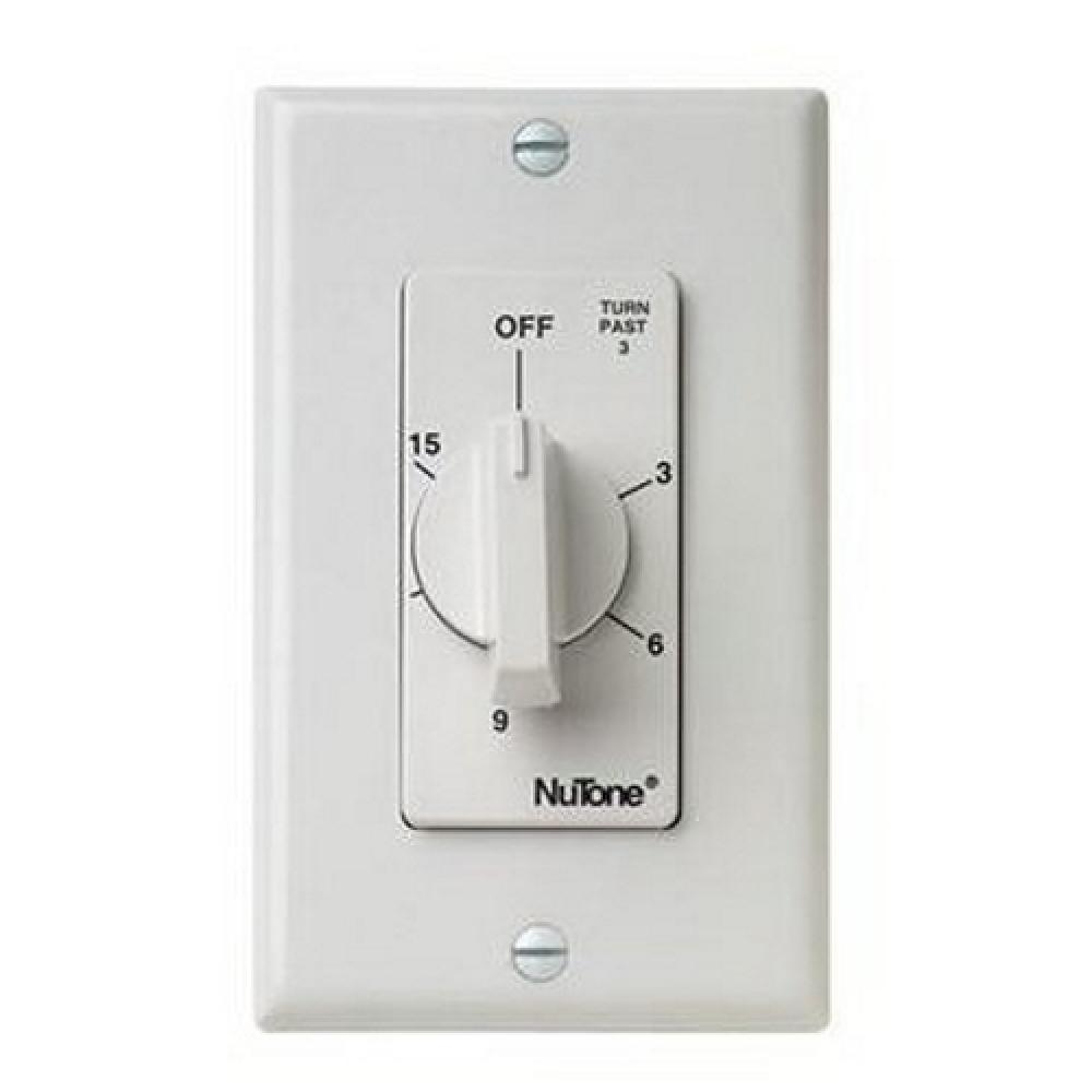 Time switch,Nutone,20 AMP,15 MINT,2-3/4 IN W X 4 : VS63WH | Bayside ...